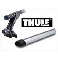 Set - THULE - Alluminio - 754/1603/862 SANTA FE