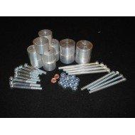 Body Lift +3.8cm - 8 Attacchi Alluminio SERIE 90