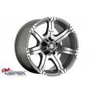 GUN METAL 17x9 GRAND CHEROKEE WJ