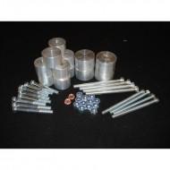 Body Lift +3.8cm - 10 Attacchi Alluminio