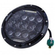 Round Led Turn Light 7""
