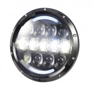 High Round Led Turn Light 7""
