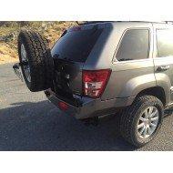 Paraurti post Heavyduty4x4 (con porta ruota) Jeep WK