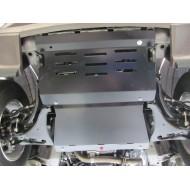 Protezione tiranteria e motore in acciaio