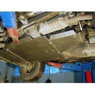 Protezione cambio e riduttore in alluminio