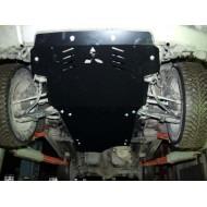 Protezione motore e cambio in acciaio