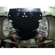 Protezione motore e cambio in alluminio