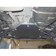 Protezione in acciaio differenziale post. (W163)