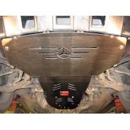 Protezione motore e cambio in alluminio (W164)