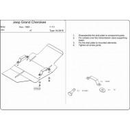 Protezione Cambio Automatico - Jeep WJ, WG in acciaio