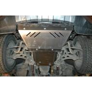 Protezione motore - Jeep WK/WL in alluminio