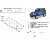 Protezione scatola sterzo - Jeep TJ in acciaio