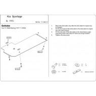 Protezione riduttore - KIA Sportage in acciaio