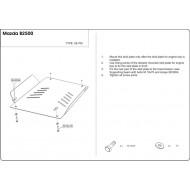Protezione Riduttore e cambio - Mazda B2500