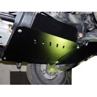 Protezione Riduttore e cambio - Mazda B2500 in alluminio