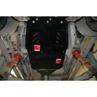 Protezione riduttore e cambio - Nissan D40/41 in alluminio