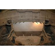 Scivola anteriore - Nissan D40 in acciaio