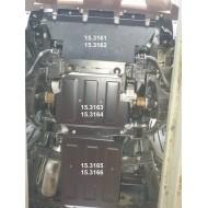 Protezione motore e cambio - Nissan D40 in acciaio