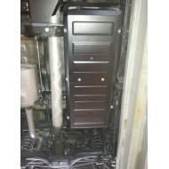 Protezione serbatoio - Nissan NP300 in alluminio