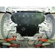 Protezione motore e cambio - Nissan Terrano 1/2 in acciaio
