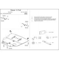 Protezione motore e cambio - Nissan X-Trail in alluminio