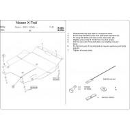 Protezione motore e cambio - X-Trial in alluminio