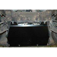 protezione motore e cambio - nissan xtrail in alluminio