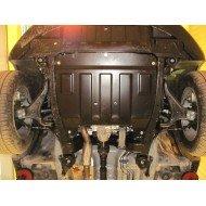 protezione motore e cambio - ssang yong korando in acciaio
