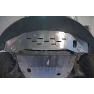 scivola anteriore - ssang yong korando in alluminio
