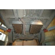 protezione serbatoio - ssang yong korando in alluminio