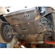 protezione trasmissione e riduttore - ssang yong kyron in alluminio