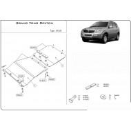 protezione motore e trasmissione - rexton in acciaio
