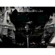 protezione motore e cambio - ssang yong rexton in alluminio