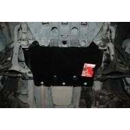 protezione motore e cambio automatico - ssang yong rexton in acciaio