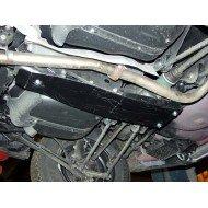 Protezione differenziale posteriore - subaru impreza in acciaio