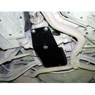 protezione differenziale posteriore - subaru outback in acciaio