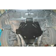 protezione motore e cambio - subaro outback in alluminio
