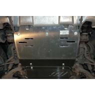 scivola anteriore - toyota 120 in acciaio