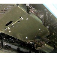 protezione cambio e riduttore - toyota 150 in acciaio