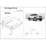 protezione riduttore e cambio - ford ranger in alluminio
