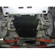 protezione motore e cambio - hyunday galloper in acciaio