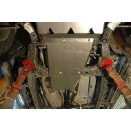 protezione riduttore e cambio - vw amarok in alluminio