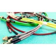 Kit tubi freno Isuzu D-Max, (3 tubi, 1 raccordo a T), aeronautici, allungati o standard