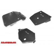 Kit piastre protezione sottoscocca Mitsubishi L200 / Fiat Fullback dal '15, in alluminio PA11