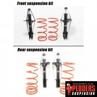 Forester SF - Lowering Suspension Kit