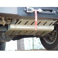 Protezione barre di direzione zincata DEFENDER